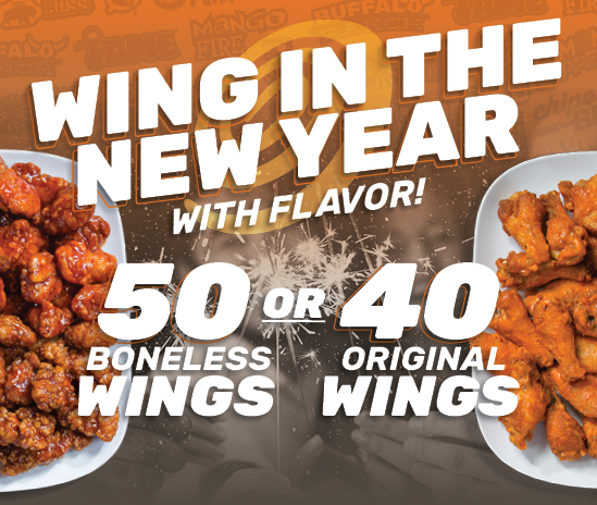 Wing in the New Year with Flavor!