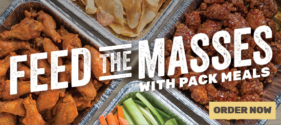 Feed the Masses with Wing Zone Pack Meals