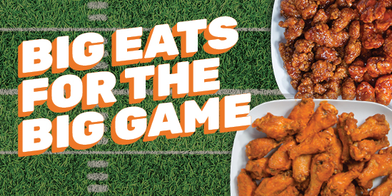 Big Eats for the Big Game
