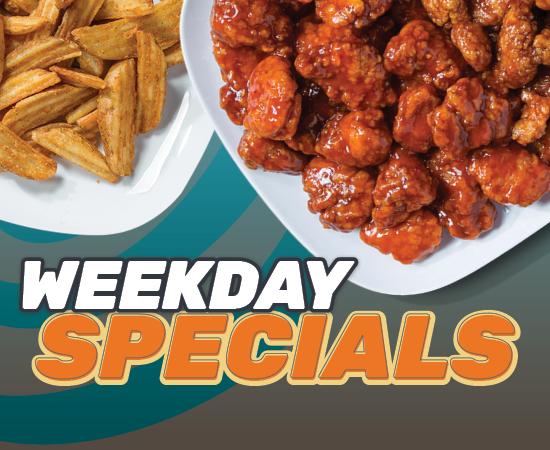Wing Zone Weekday Specials