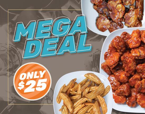 $25 Mega Deal — Order Now!
