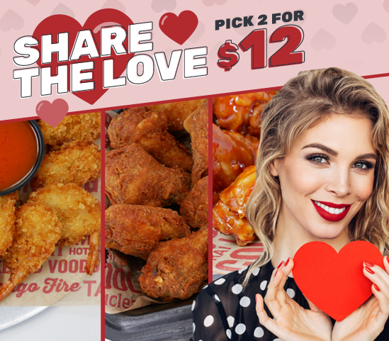 Share the Love: Pick 2 for $12