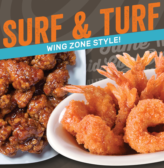Wing Zone Boneless Wing Combo, just $9