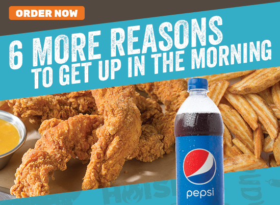 6 More Reasons to Get Up in the Morning — Hand-Breaded Tenders Meal for $10