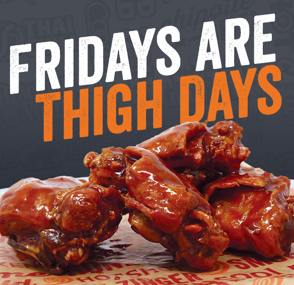 In August & September, Fridays are Thigh Days