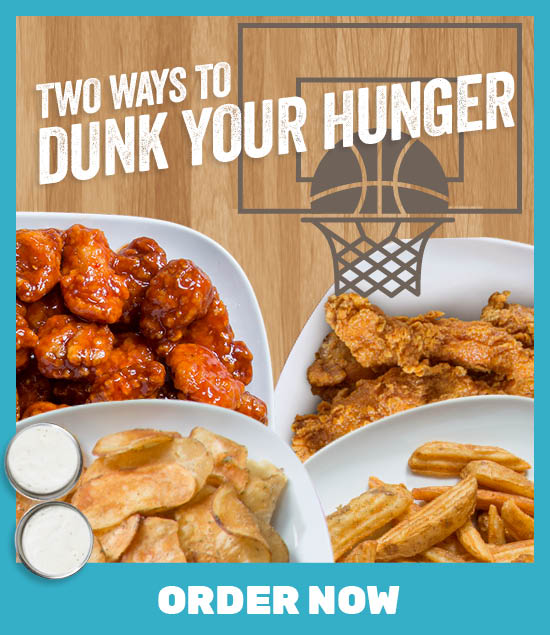 Two Ways to Dunk Your Hunger