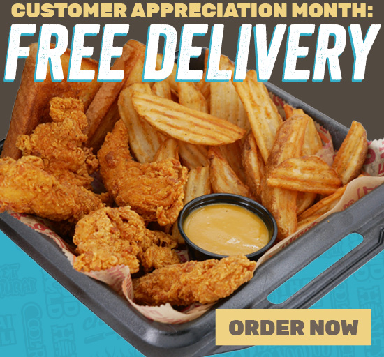 Customer Appreciation Month: FREE DELIVERY!