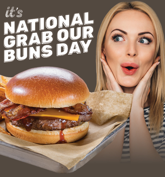 It's National Grab Our Buns Day