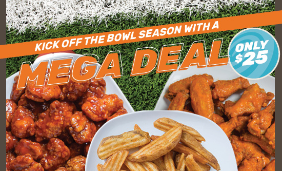 Mega Deal — Delivering Big Flavor for Only $25!