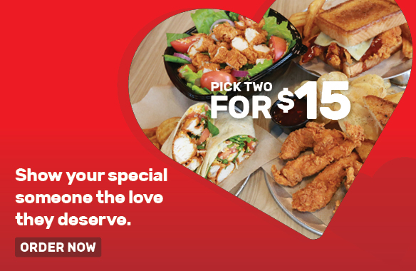 Show your specialsomeone the lovethey deserve : PICK 2 FOR $15